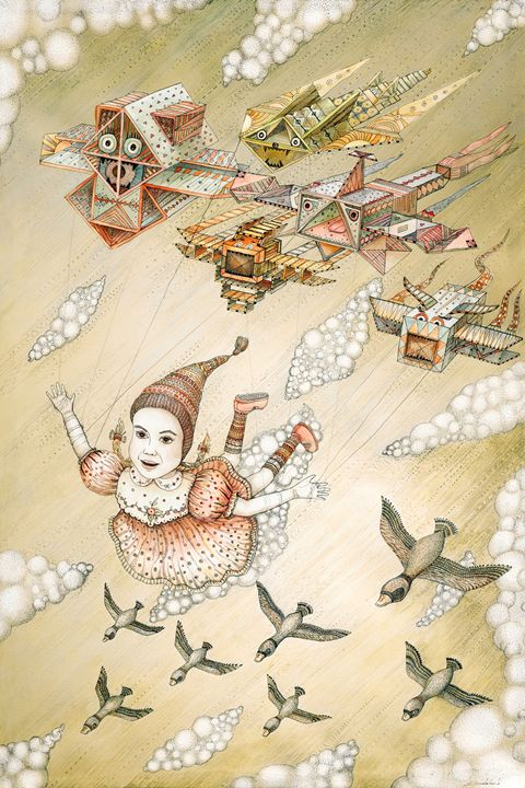 Dream of flying - Ruta Art