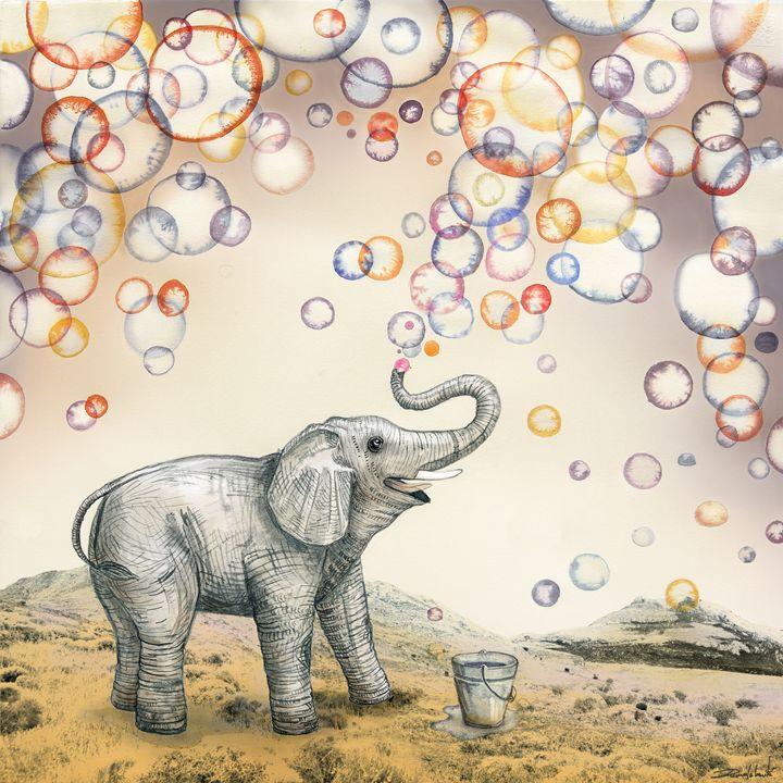 Bubble dreams - Ruta Art