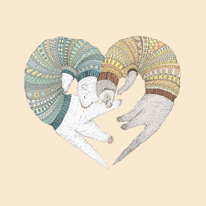 Love Sleep - Ruta Art
