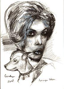 Portrait of Coccinelle