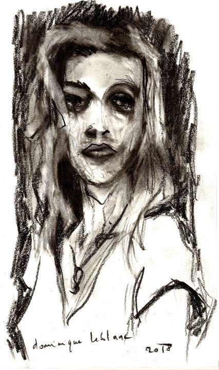 Portrait of victim - Dominique Leblanc - Model-Peltex