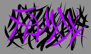 Grey, Black & Purple - 1