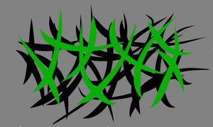 Grey, Black & Green Landcsape - 2
