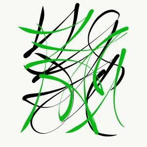 Green & Black - 1