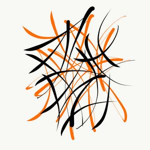 Orange & Black - 1