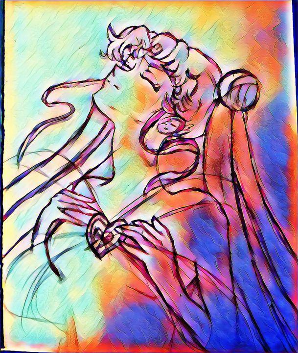 Sailor Moon inspiration - Nima.Jupiter.Fire
