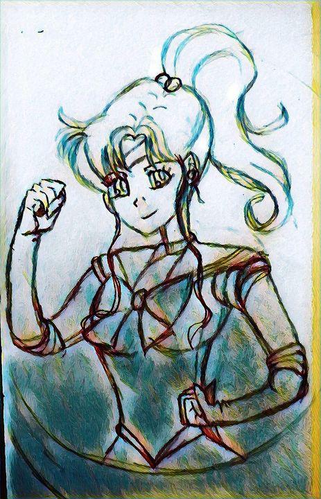Sailor Jupiter inspiration - Nima.Jupiter.Fire