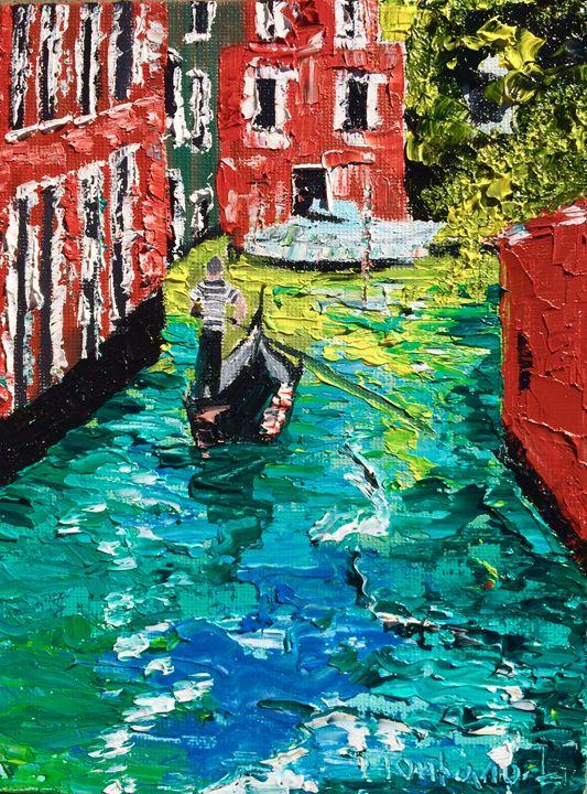 Venice reflection - Inna Montano fine art
