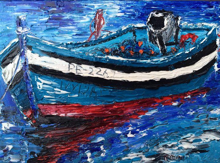 Fishing boat - Inna Montano fine art