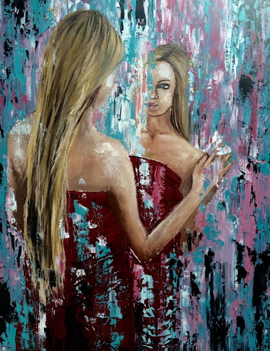 Mirror - Inna Montano fine art