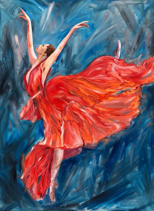 Firebird - Inna Montano fine art
