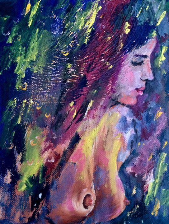 Nude women - Inna Montano fine art