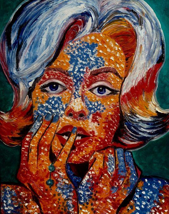 Marilyn Monroe - Inna Montano fine art