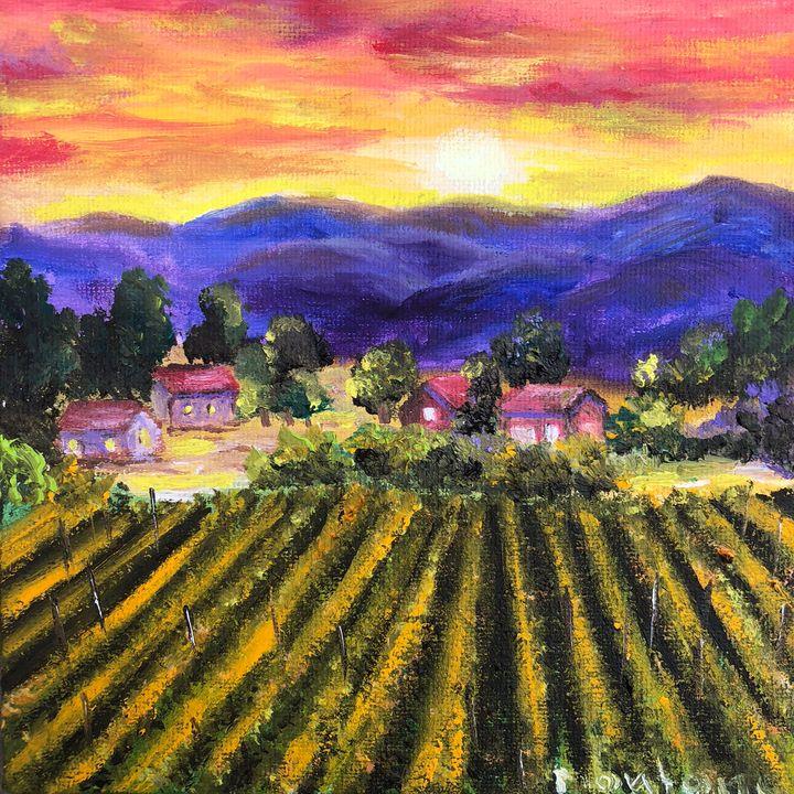 Sunset - Inna Montano fine art