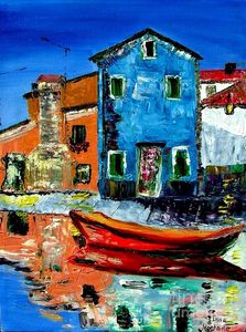 Burano reflection