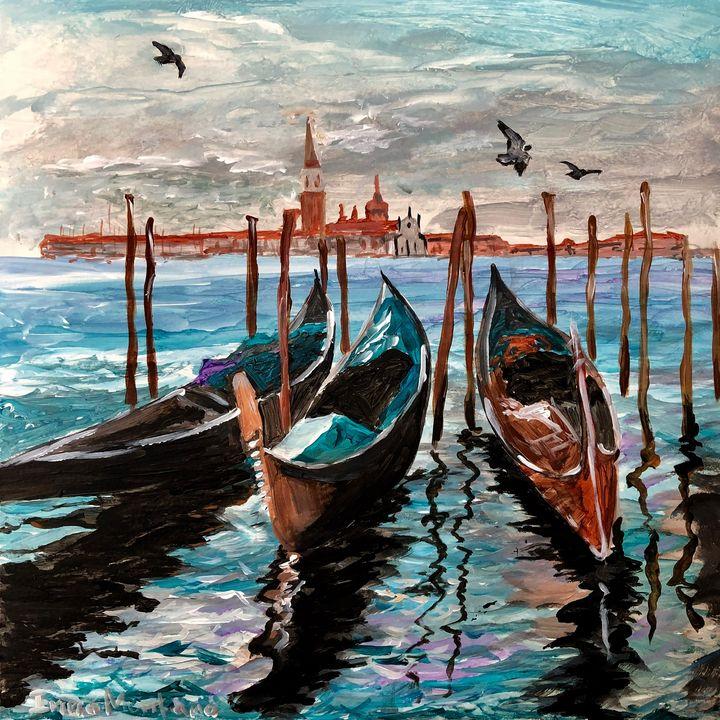 One day in Venice - Inna Montano fine art