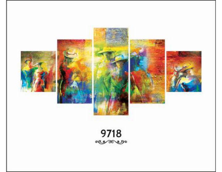 Modern Art 9718 - Feelings Paradise