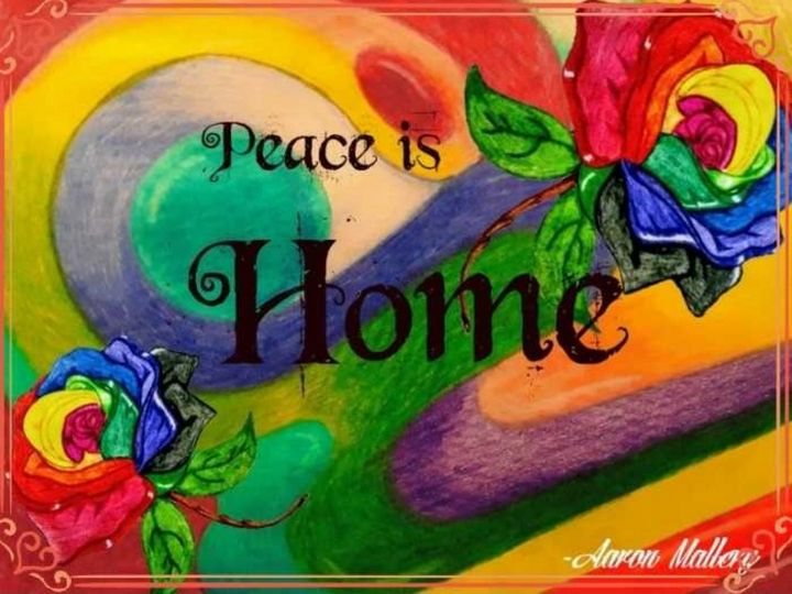 Peace is Home - Amale' Art