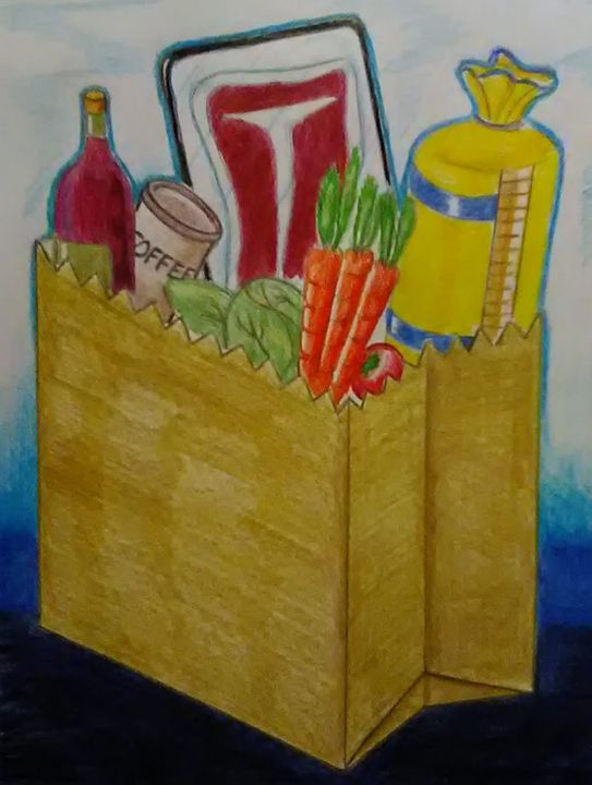 What's for Dinner? - Amale' Art