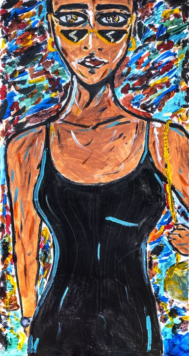 Black Dress - Mahdi Khene