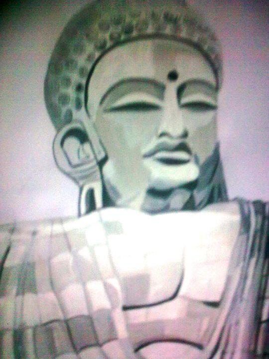 Guatam Buddha, - Prakash 1 fine art / painting gallery