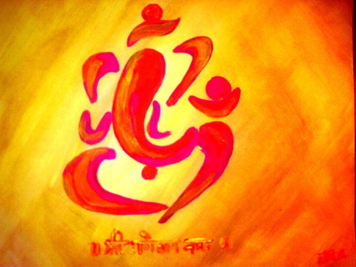 ganesha 5 - Prakash 1 fine art / painting gallery