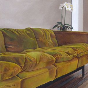 Intérieur N°66 The Green Sofa N°2