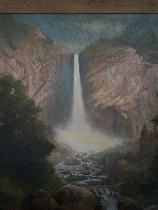 Englehart - Rainbow Falls, Oregon - CherylsAntiques