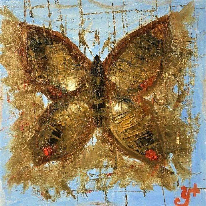 Butterfly In Silence - Anastasiia Naumenko