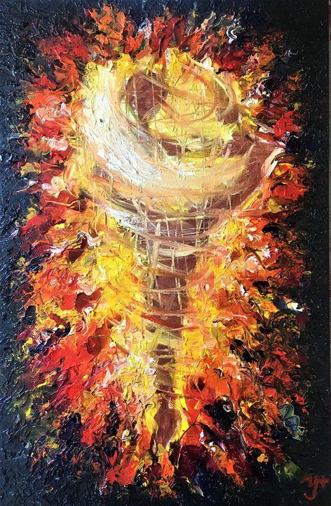 On Fire - Anastasiia Naumenko