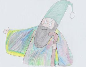 Gabbler the Wizard