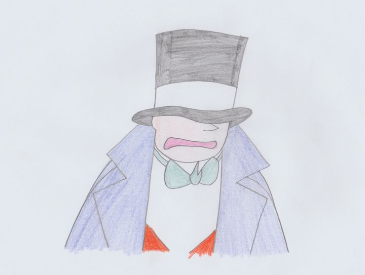 Zeppo With His Hat Stuck - Rene Astle