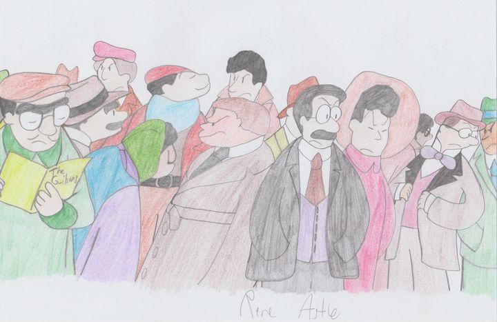 Opening Night Crowd - Rene Astle