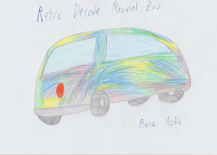 Retro Decade Revival Bus - Rene Astle