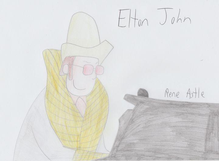 Elton John - Rene Astle
