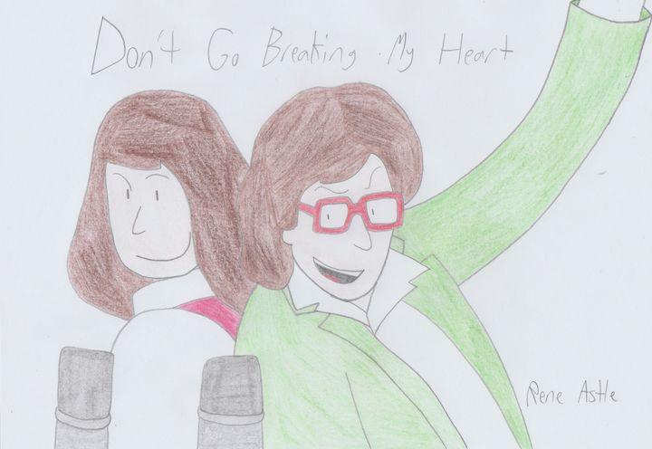 Don't Go Breaking My Heart - Rene Astle