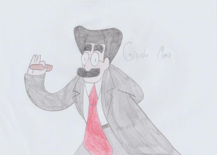 Groucho Marx - Rene Astle