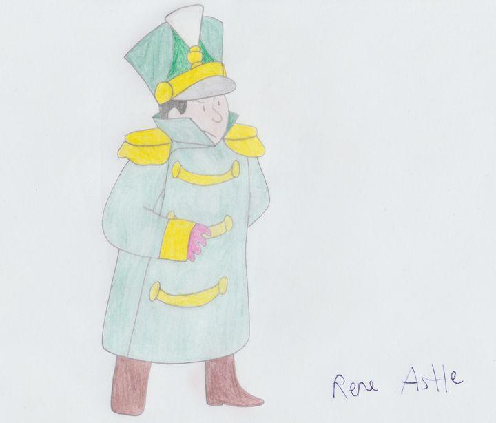 Doorman Walter - Rene Astle