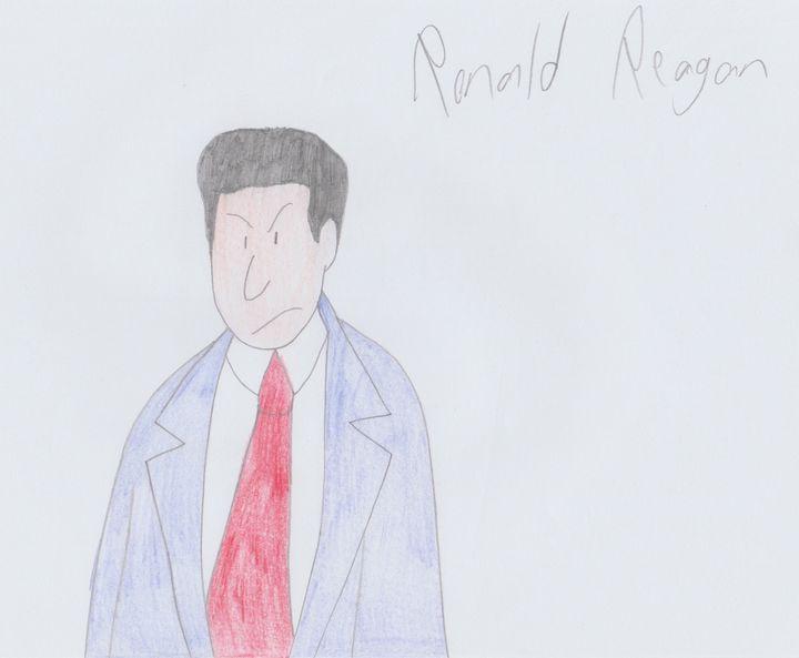 Ronald Reagan - Rene Astle
