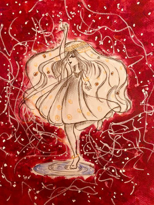 Dance among the Falling stars - Aiyushi