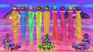 Pillars of mars