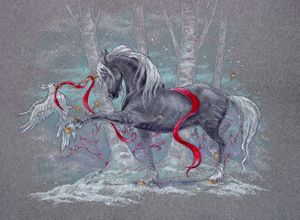 Unicorn Snow Bird