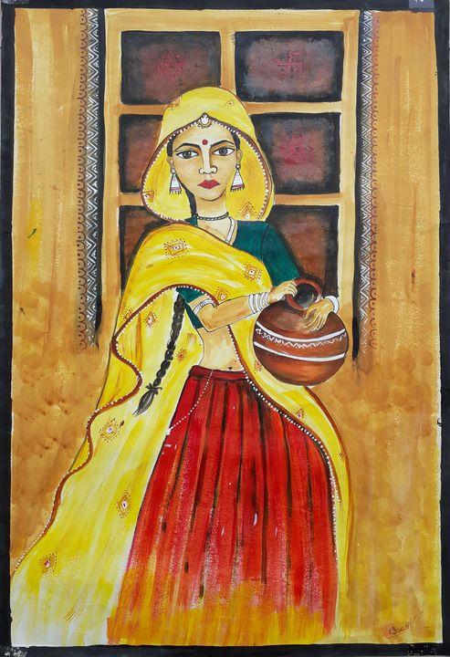 A Village View - Bharti Verma