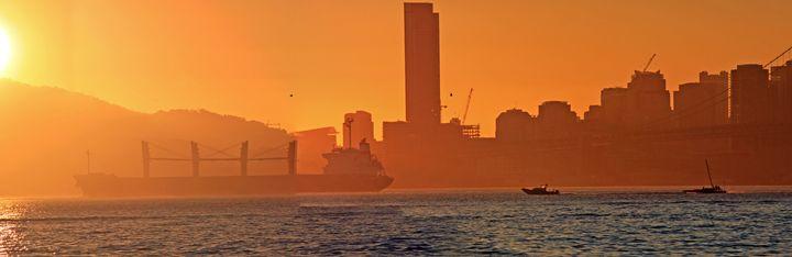 San Francisco Sun Set - Photography by Armando