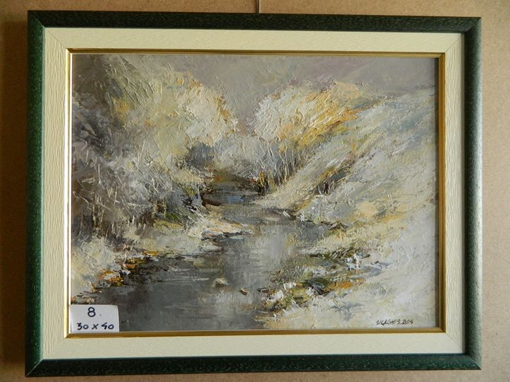 River in winter - Silaghi Stelian