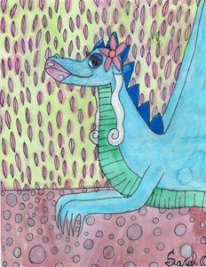 Blue Dragoness