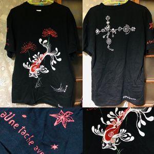 aune's painting T-shirt 2020.No.002 - aune