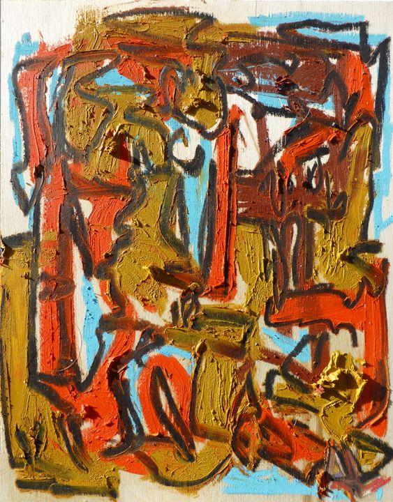 Oil Abstract - Allison Lampron