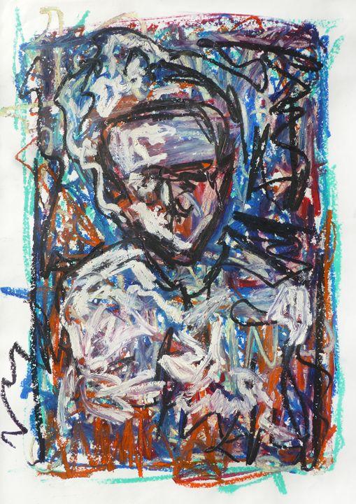 Blue Thoughts - Allison Lampron