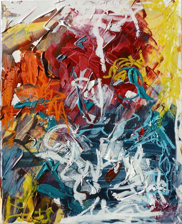 Active Painting 3 - Allison Lampron